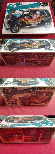 Vintage 2585: Vintage Mpc The Sorcerer Ford Van Factory Sealed 1 25 Model Kit. -> BUY IT NOW ONLY: $89.95 on eBay!