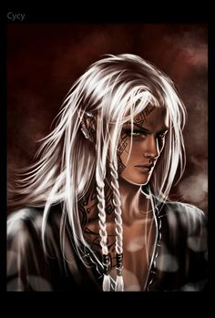Fantasy Men with Long Hair | Castle of fantasies