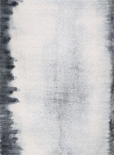 Edge charcoal rug | Fort Street Studio