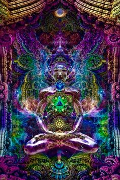 Visionary Artist Dima Astronaut Celestial Aura Tapestry by Third Eye Tapestries Chakra Art, Sacral Chakra, Chakra Healing, Psychadelic Art, Psy Art, Visionary Art, Fractal Art, Sacred Geometry, Trippy