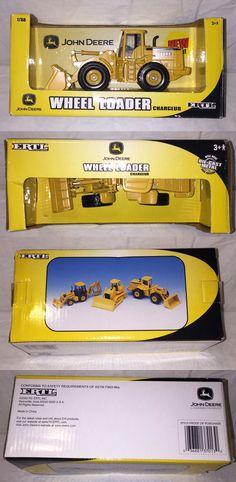 Ertl Diecast John Deere Wheel Loader 1 50 for sale online Marvel Store, Metal Casting, Fire Trucks, Diecast, Mint, Toy, Construction, Contemporary, Cars