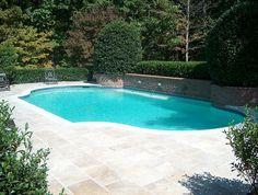 pool renovation turkish travertine limestone coping luxury hardscaping ideas luxury hardscaping ideas #luxury #hardscaping #ideas
