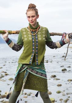 """#Farbbberatung #Stilberatung #Farbenreich mit www.farben-reich.com """"Luse"""" eco-cotton cardigan – Denmark – GUDRUN SJÖDÉN – Webshop, mail order and boutiques 