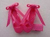 Ballet Slippers - Dark Pink