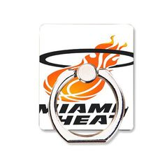 for Miami Heat Logo Phone Ring Holder Soft TPU Silicone Case Cover for iPhone 4 4S 5C 5 SE 5S 6 6S 7 Plus