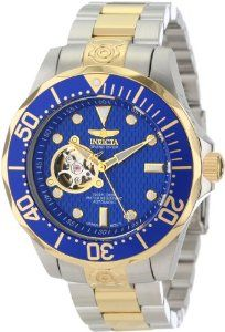#Invicta Men's 13706 Grand Diver Automatic Blue Textured Dial Two Tone Stainless Steel #Watch $136.25