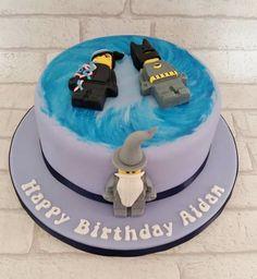 Lego Dimension birthday cake