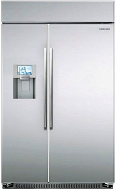 "Samsung RS27FDBTNSR 48"" Stainless Steel Counter Depth Bulit-In Side-By-Side Refrigerator Samsung http://www.amazon.com/dp/B00G4DZRLY/ref=cm_sw_r_pi_dp_Y3gyub14MQM82"