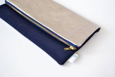Navy Bridesmaid Clutch Navy Evening Bag by DaisyFayeDesigns