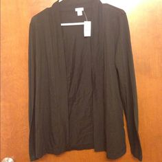 NWT J.CREW COVER UP Perfect breathable material for just a light layer, ideal for spring, summer, and fall! J. Crew Tops