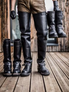 Black High Boots, High Leather Boots, Tall Boots, Leather Men, Leather Pants, Black Leather, Men's Boots, Leather Subculture, Engineer Boots