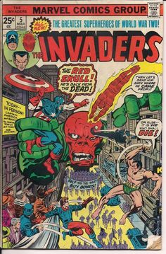 Marvel Comics Group The Invaders #5 in Collectibles, Comics, Bronze Age…