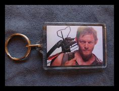 The Walking Dead Daryl Dixon Acrylic Keychain by AndyBayliss, $6.99. This store has lots of cool stuff!!