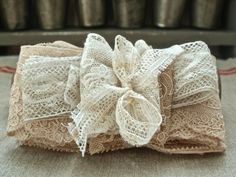 Pretty Antique Lace Collection of five Vintage by BrocanteArt, £14.80