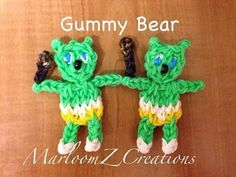 Rainbow Loom: Gummy Bear ( MarloomZ Creations)