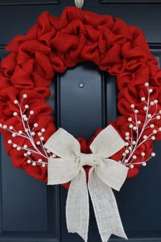 58 Red and White Christmas Decoration Ideas (38)
