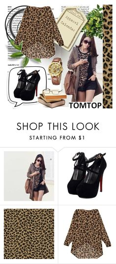 """""""TOM TOP +1"""" by lejlamoranjkic ❤ liked on Polyvore featuring mode"""