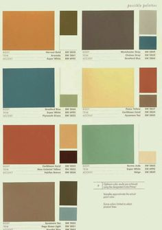 ... more sherman william exterior color house color 1950 color palette