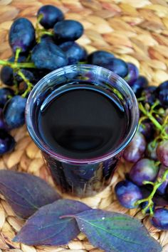 """Forever Young"" Super-Antioxidant Black Currants Grape Juice - Amazingly luscious taste!"