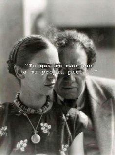 I love you more than my own skin - Frida Kahlo