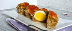 Deftige Muffins? Oh ja, sogar sehr deftig.  Mit Hackfleisch Ei und Käse. Für eine Deftige Schnauze wie mich ist das ein super Frühstück ...