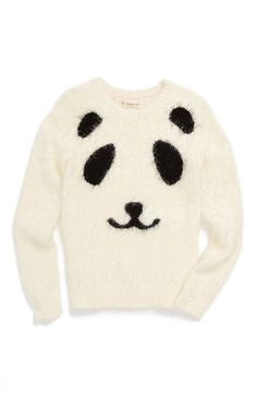 Free shipping and returns on Tucker + Tate 'Fluffy Icon' Sweater (Toddler Girls, Little Girls & Big Girls) at Nordstrom.com. A sweet critter face styles a soft, fuzzy sweater that's as soft as her favorite teddy bear.