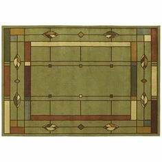 Shaw Living Leaf Point 7 ft 10 in X 10 ft 9 in Rectangular