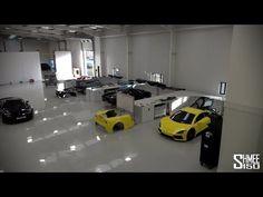 Arash Cars, the Full Tour - AF8, AF-10, and Factory Overview - YouTube