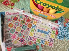 Fun! A post about the June Sew Sampler box by from Emily Ann's Kloset.