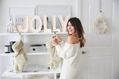 I'm so excited to share our holiday home tour with you all today, take a peek inside...