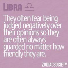 Libra guarded | Zodiac Society