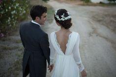 La boda de mi lectora: Ana Weeding Dress, Dream Wedding Dresses, Bridal Dresses, Summer Wedding, Wedding Day, Pulls, Wedding Bells, Perfect Wedding, Wedding Colors