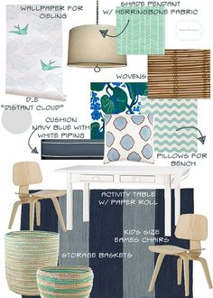 Amber Interior Design: Playroom - color inspiration (more mature)