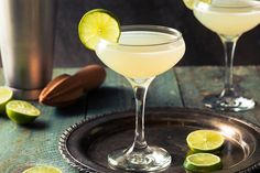 Classic Lime Daiquiri Cocktail by brenthofacker