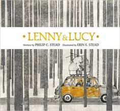 Mock Caldecott debate: Lenny & Lucy by Philip and Erin Stead.