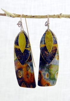 Carpathia earrings - Polymer Clay by Stories They Tell, via Flickr