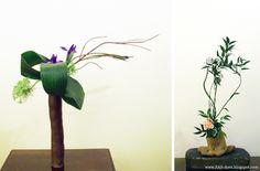 SAS-does: FREE STYLE IKEBANA 2012  via http://sas-does.blogspot.com