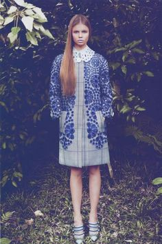 Lula Magazine. I Love the Colours and the Louis Vuitton Coat