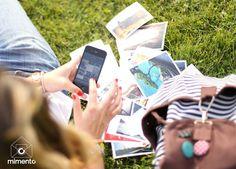 # polaroid #photos #spring #mobile #mimentoapp