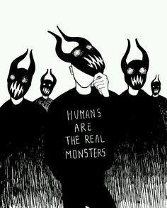 Quotes Deep Thoughts Truths Sad Ideas For 2019 Real Monsters, Dark Quotes, Deep Thoughts, Life Thoughts, Dark Art, Cool Art, Sketches, Feelings, Words