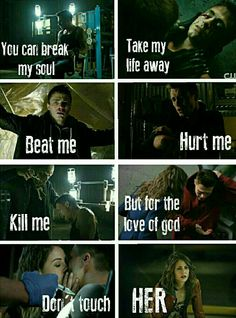 Roy and Thea. Don't touch her.