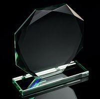 15cm Jade Octagon Award
