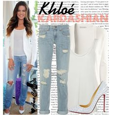 1227. Khloé Kardashian, created by anacorreia on Polyvore