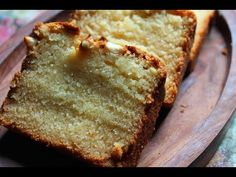 Simple and easy cakes is what i love a lot. The cake with no cream, the cake which can be had with a cup of chai or milk is my favourite. Eggless Pound Cake Recipe, Basic Pound Cake Recipe, Easy Pound Cake, Pound Cake Recipes, Banana Bread Recipes, Chocolate Orange Cheesecake, Chocolate Chip Pound Cake, Almond Pound Cakes, Eggless Desserts