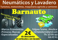 Descuentos en BARNAUTO ¡¡DALE LA VUELTA AL TICKET!! en el Supermercado DIA% de Almuñecar.