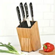 Slotless knife holder