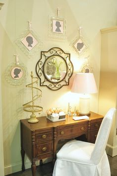 Willow House ~ i have this mirror in my kitchen!! great addition to my kitchen decor!