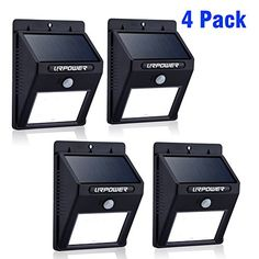 Solar Light,URPOWER 8 LED Outdoor Solar Powerd,Wireless Waterproof Security Motion Sensor Light for Patio, Deck, Yard, Garden,Driveway,Outside Wall with 2 Modes Motion Activated Auto On/Off(4 Pack) ** LEARN MORE @ http://www.laminatepanel.com/store/solar-lighturpower-8-led-outdoor-solar-powerdwireless-waterproof-security-motion-sensor-light-for-patio-deck-yard-gardendrivewayoutside-wall-with-2-modes-motion-activated-auto-onoff4-pack-4/?a=1226