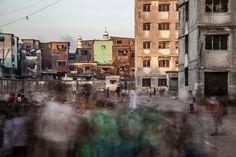 Dharavi Slum en Mumbai, India, de Torsten Andreas Hoffmann