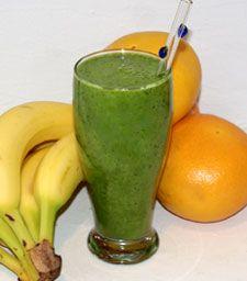 Coconut-Grapefruit Green Smoothie